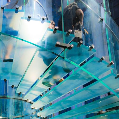 Beautifull Walkable Glass By Balink mexim caribbean aruba