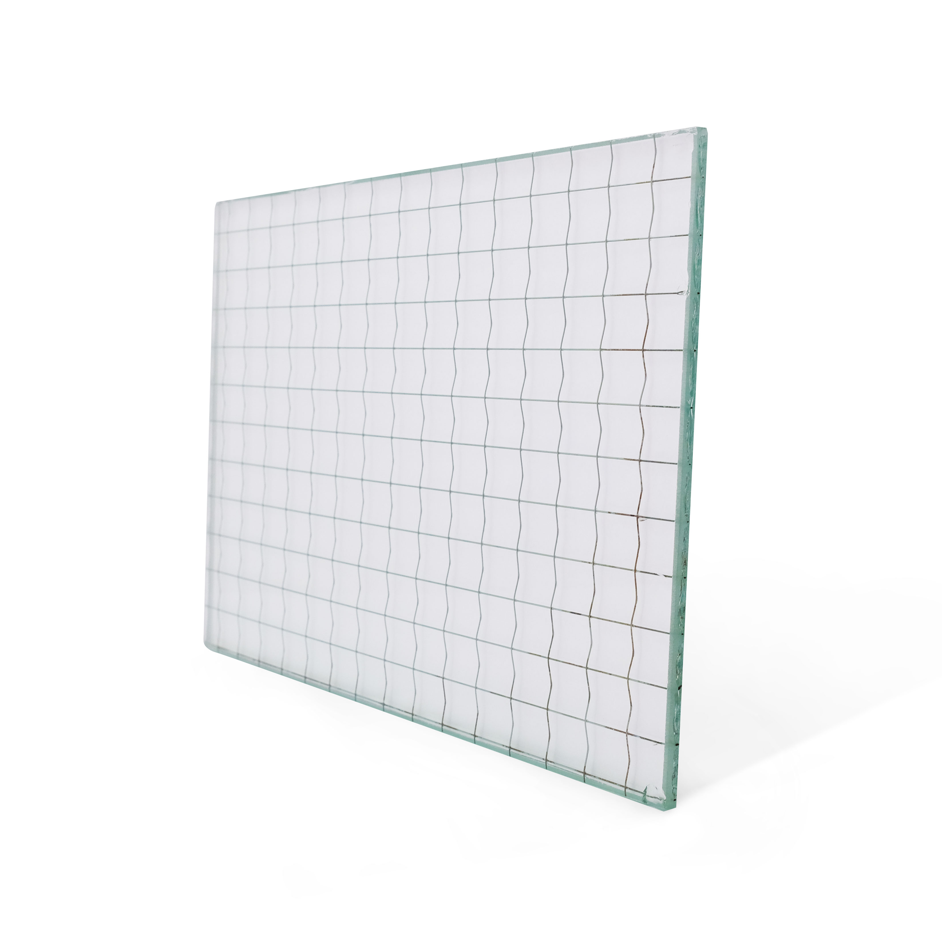 Wired Clear Glass