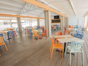 Lucys restaurant renovation aluminum windows doors mexim caribbean