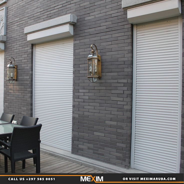 Roller Shutters Protect Windows