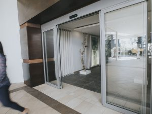automatic sliding door marriott
